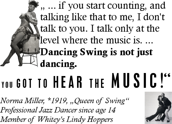 Norma Miller Music Tanz-Swing
